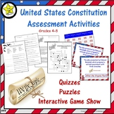 United States Constitution Assessment Activities