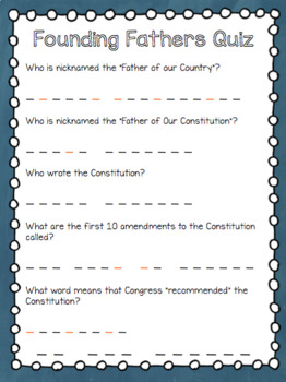 United States Constitution Escape Room Mystery
