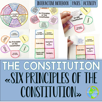 United States Constitution Interactive Notebook Pages