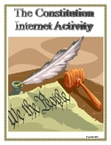 United States Constitution: Internet Activity