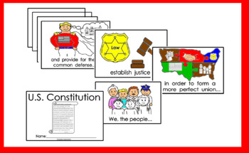 United States Constitution reader coloring book