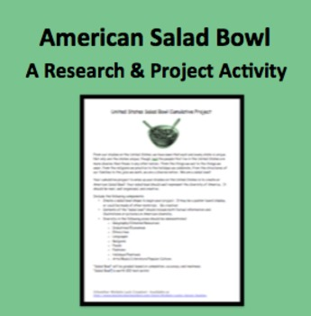 United States Cumulative Salad Bowl Project Assignment