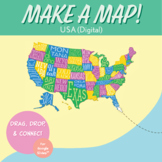 United States Digital Map-Making Activity | Distance Learn