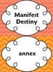 United States Expansion:Jackson Era & Manifest Destiny Word Wall Set (1800-1860)