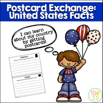 United States Fact Book Postcard Exchange