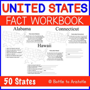 United States Fact Workbook - Individual States