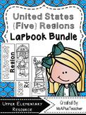 United States {Five} Regions Lapbook Bundle