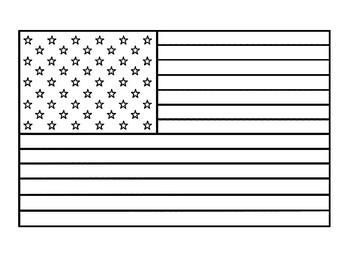 united states flag american flag template american flag coloring