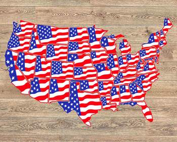 United States Flag Map Individual State Svg USA 4th july independence on american revolution bicentennial flag, map of the united states area codes, texas united states flag, map of the united states black, map of the world flag, map of the statue of liberty, map of the philippines flag,