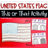 United States Flag This or That Activity for Veteran's Day