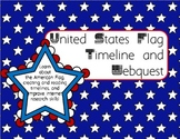 United States Flag Timeline and Webquest