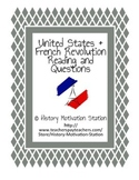 United States & French Revolution Reading and Questions