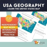 United States Geography Activity | Distance Learning for G