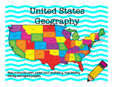 United States Geography Activity Set