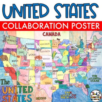 United States - Geography Collaboration Poster