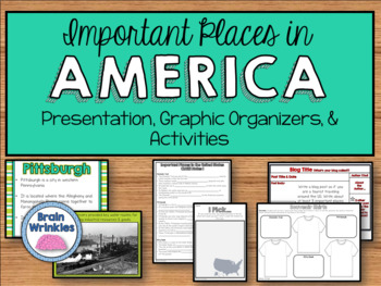 United States Geography - Important Features and Places