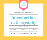 United States Geography Introduction PowerPoint