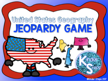 United States Geography Jeopardy Game