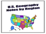 United States Geography Notes by Region
