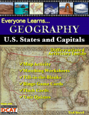 Everyone Learns Geography: U.S. States and Capitals