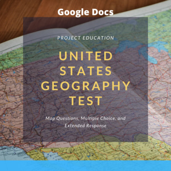 United States Geography Test