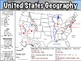 United States Geography Worksheet