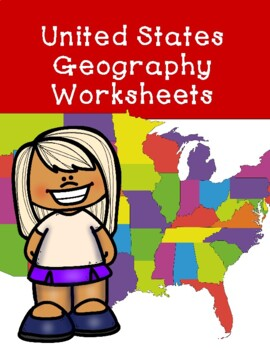 United States Geography Worksheets Free Sample
