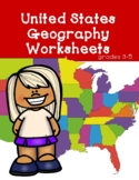 United States Geography Worksheets