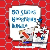 United States Geography and Map Skills Bundle