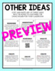 United States Geography Choice Board - Editable