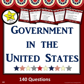 United States Government Test Prep