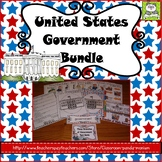 United States Government Three Branches (Task Cards Included)