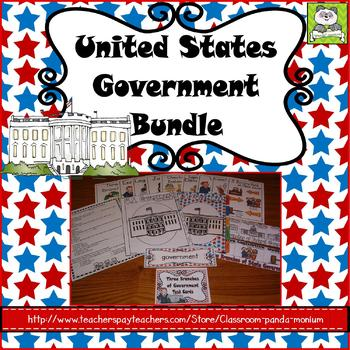 United States Government Bundle (Task Cards Included)