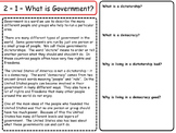 United States - Government & Civics  - Federalism