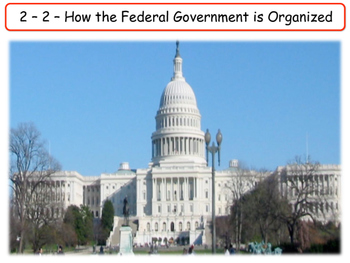 United States - Government & Civics - Unit 2 - Three Branches of Government