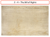 United States - Government & Civics - The Bill of Rights