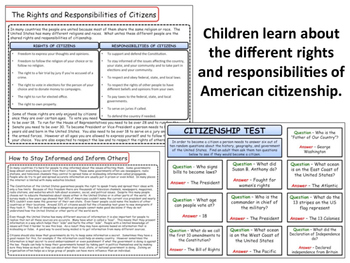 United States - Government & Civics - Citizenship