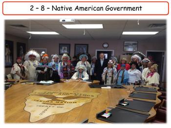 United States - Government & Civics - Unit 8 - Native American Government