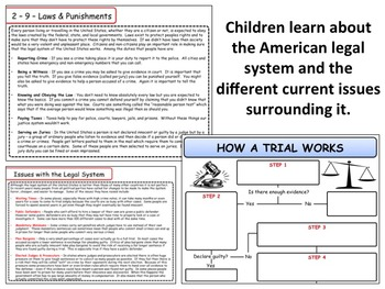 United States - Government & Civics - The Legal System