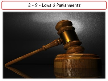 United States - Government & Civics - Unit 9 - The Legal System