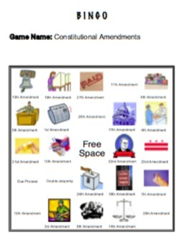Everyone Learns United States Government: Constitutional Amendments