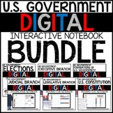 United States Government Digital Interactive Notebook BUNDLE