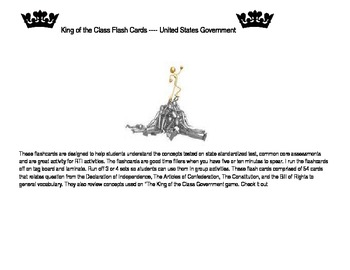 United States Government Flashcards