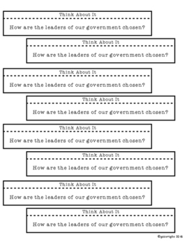 United States Government INB Foldables