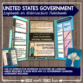United States Government {Lapbook OR Interactive Notebook}