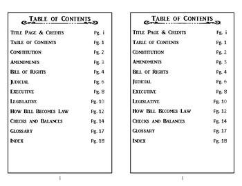 United States Government Mini Book