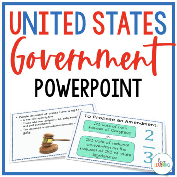 United States Government PowerPoint Lesson
