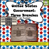 United States Government Three Branches Tab Booklet