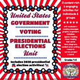 United States Government, Presidential Elections, and Voting Unit