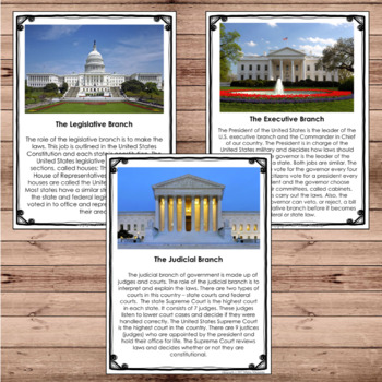 United States Government and Map Skills Bundle